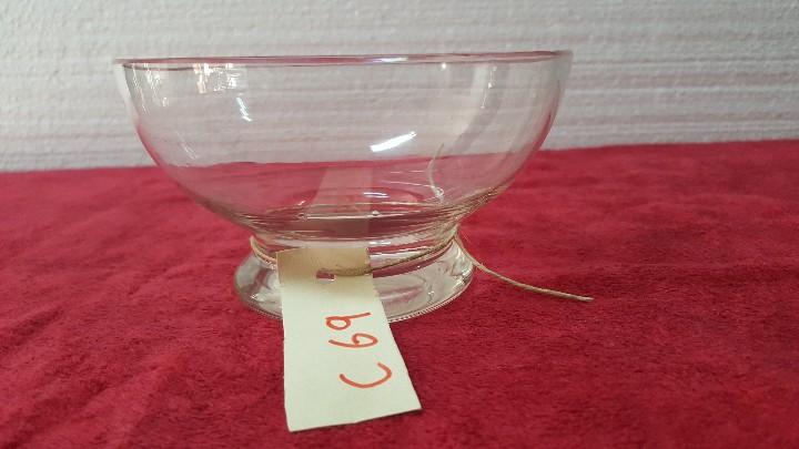RECIPIENTE ANTIGUO EN CRISTAL CARTAGENA 5000 - 069 (Antigüedades - Cristal y Vidrio - Santa Lucía de Cartagena)