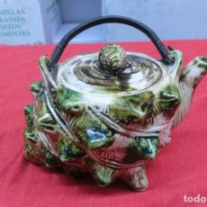 Antigüedades: TETERA DE PORCELANA INGLESA. Lote 111029199