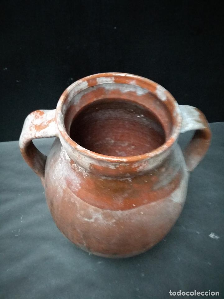 Antigüedades: OLLA DE BARRO COCIDO Y VIDRIADO, ANTIGUA. POPULAR - Foto 2 - 111042715