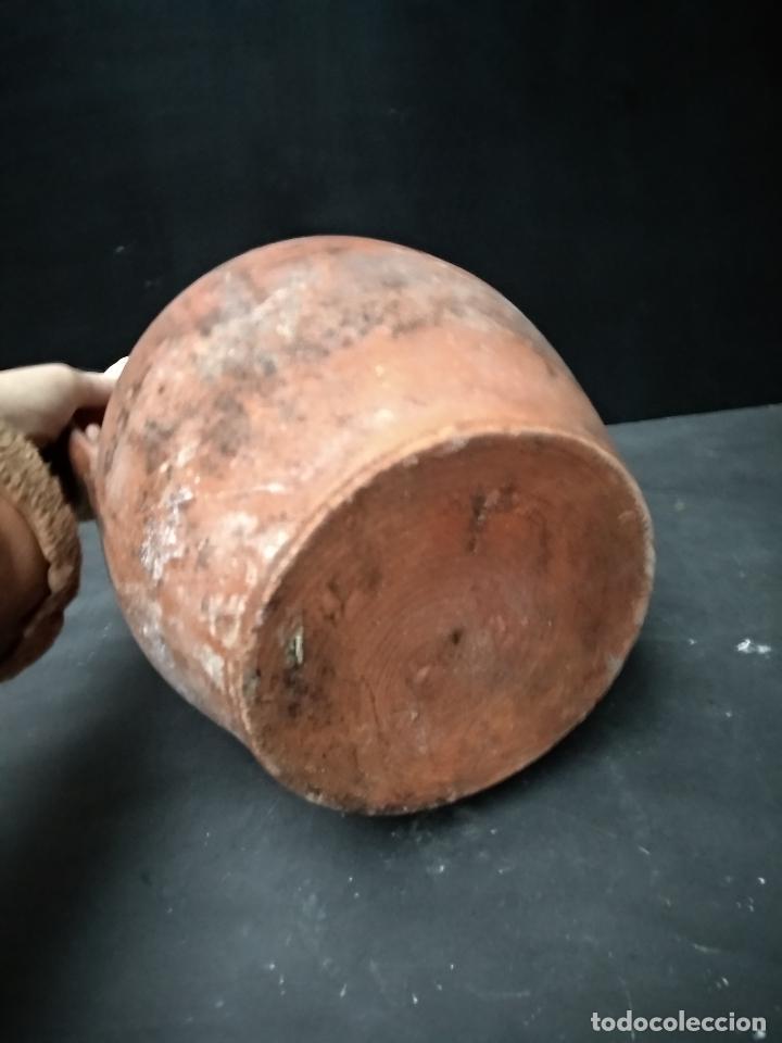 Antigüedades: OLLA DE BARRO COCIDO Y VIDRIADO, ANTIGUA. POPULAR - Foto 4 - 111042715