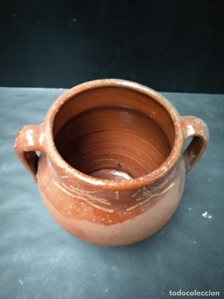 Antigüedades: OLLA DE BARRO COCIDO Y VIDRIADO, ANTIGUA. POSIBLEMENTE ZONA JAEN - Foto 2 - 111043243