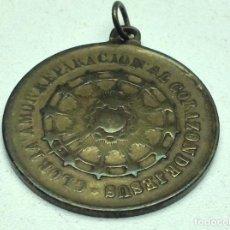 Antigüedades: MEDALLA ANTIGUA GUARDIA DE HONOR DEL SAGRADO CORAZON. Lote 111043835