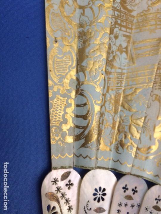 Antigüedades: Antiguo abanico (con faltas) - Foto 11 - 111051552