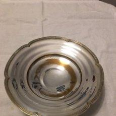 Antigüedades: CENTRO DE ALPACA PLATEADA. Lote 111054102