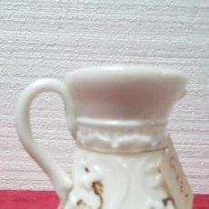 Antigüedades: JARRÓN ANTIGUO CRISTAL OPALINA EN BLANCO 5000 - 121. Lote 88496324