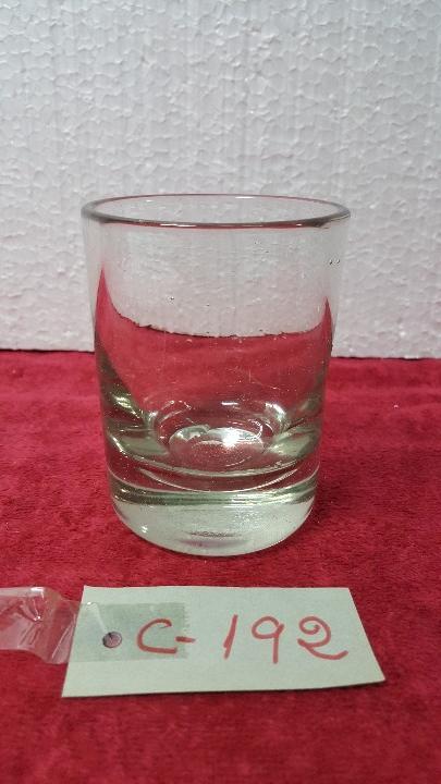 VASO ANTIGUO EN CRISTAL CARTAGENA 5000 - 192 (Antigüedades - Cristal y Vidrio - Santa Lucía de Cartagena)