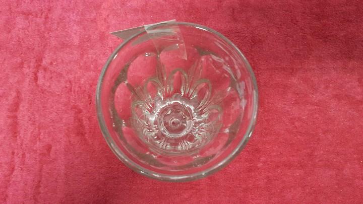 Antigüedades: COPA ANTIGUA CRISTAL TALLADO CARTAGENA BCD - 197 - Foto 4 - 88961040