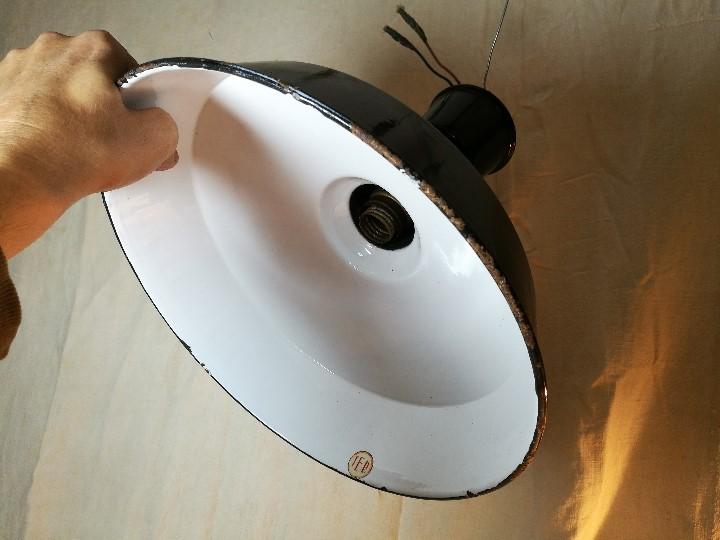 industrial lampara en vintage foco techo pantalla Vendido 4ARj3Lq5