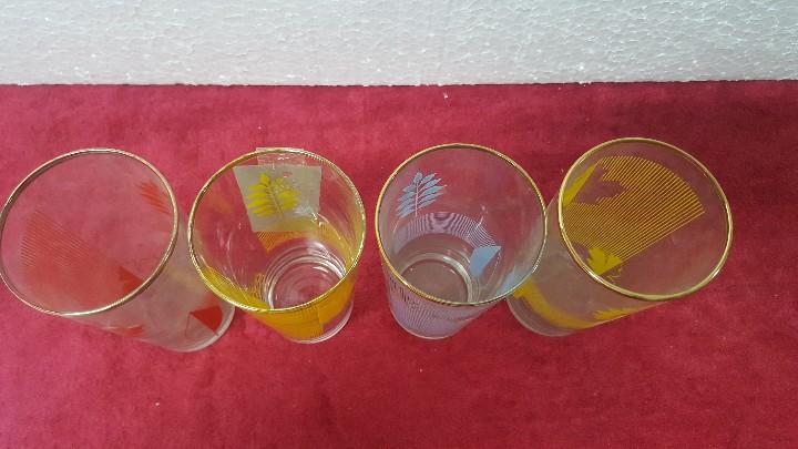 Antigüedades: VASOS (4 UNID.) EN CRISTAL FABRICA CARTAGENA 5000 - 280 - Foto 12 - 91049700
