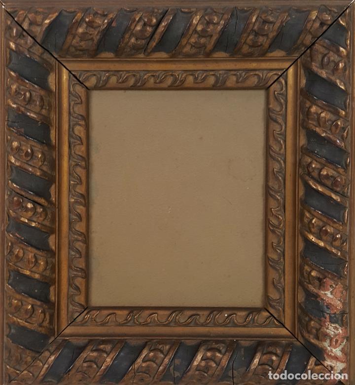 marco. molduras de madera tallada y policromada - Comprar Marcos ...