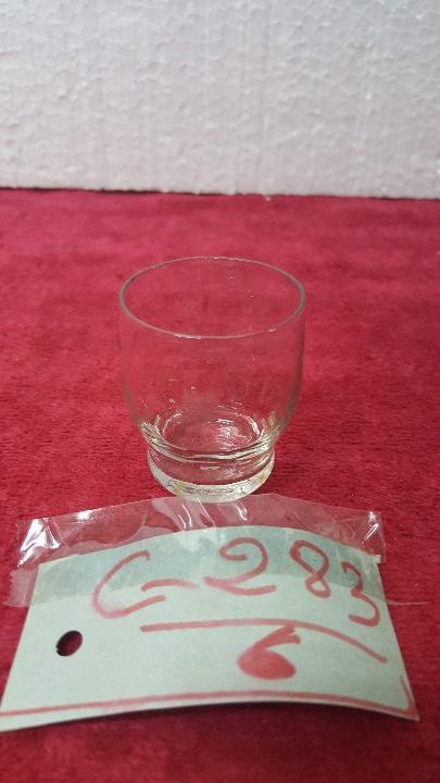VASO ANTIGUO CRISTAL CARTAGENA 5000 - 283 (Antigüedades - Cristal y Vidrio - Santa Lucía de Cartagena)