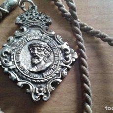 Antigüedades: SEMANA SANTA CIUDAD REAL - MEDALLA HERMANDAD DE NTRO PADRE JESUS ULTRAJADO Y CORONADO DE ESPINAS. Lote 111140139
