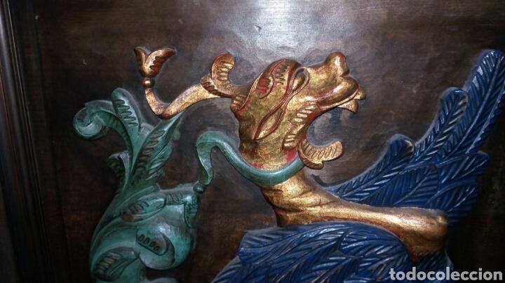 Antigüedades: BARGUEÑO LICORERO DE NOGAL TALLADO ETIQUETADO DE LA SALA DE ARTE JOAQUIM SOROLLA RECOGIDA A CARGO - Foto 13 - 110524668