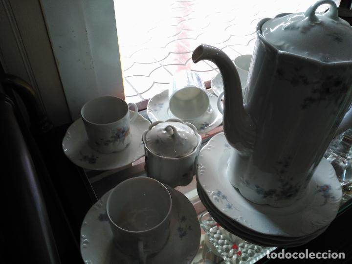 MAGNIFICO JUEGO DE CAFÉ ART DECO ALEMAN FIRMADO ROSENTHAL CUATRO SERVICIOS 15 PIEZAS (Antigüedades - Porcelana y Cerámica - Alemana - Meissen)