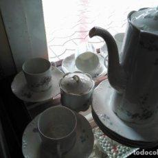 Antigüedades: MAGNIFICO JUEGO DE CAFÉ ART DECO ALEMAN FIRMADO ROSENTHAL CUATRO SERVICIOS 15 PIEZAS. Lote 111191943