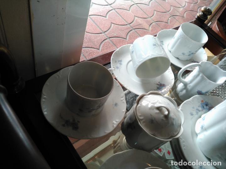 Antigüedades: MAGNIFICO JUEGO DE CAFÉ ART DECO ALEMAN FIRMADO ROSENTHAL CUATRO SERVICIOS 15 piezas - Foto 5 - 111191943