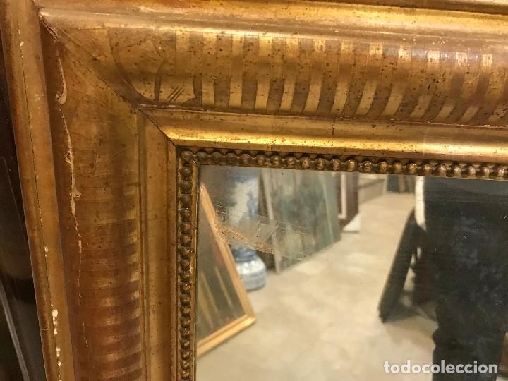 Antigüedades: ESPEJO ISABELINO ORO FINO - Foto 3 - 111194475