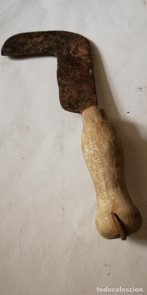 PODON ANTIGUO PARA LA VENDIMIA (Antigüedades - Técnicas - Rústicas - Agricultura)