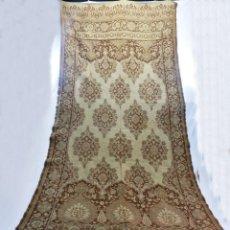 Antigüedades: GRAN TAPIZ DE TELAR S XIX ART NOUVEAU MODERNISTA. 270X120 CM. Lote 111216271