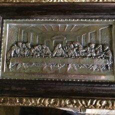 Antigüedades: CUADRO LA ULTIMA CENA DE LEONARDO DA VINCCI. Lote 111227230