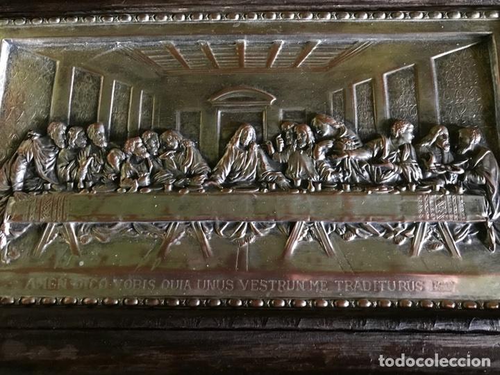 Antigüedades: Cuadro La ultima cena de Leonardo Da Vincci - Foto 3 - 111227230