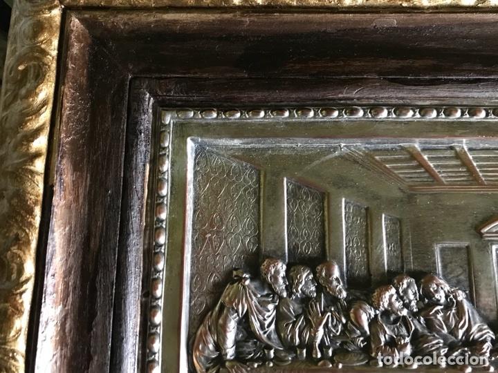 Antigüedades: Cuadro La ultima cena de Leonardo Da Vincci - Foto 4 - 111227230