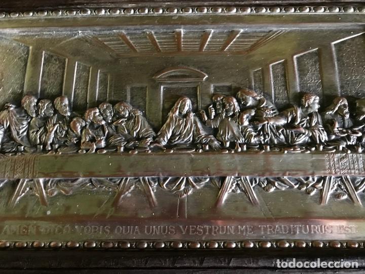 Antigüedades: Cuadro La ultima cena de Leonardo Da Vincci - Foto 6 - 111227230