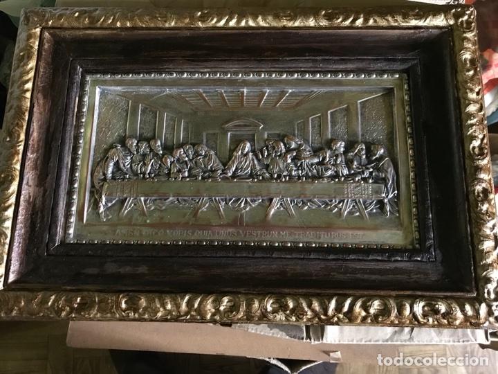 Antigüedades: Cuadro La ultima cena de Leonardo Da Vincci - Foto 7 - 111227230