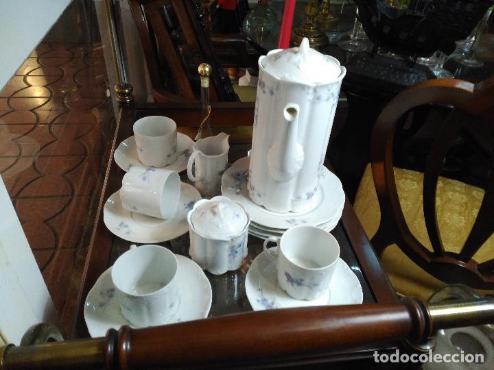 Antigüedades: MAGNIFICO JUEGO DE CAFÉ ART DECO ALEMAN FIRMADO ROSENTHAL CUATRO SERVICIOS 15 piezas - Foto 2 - 111191943
