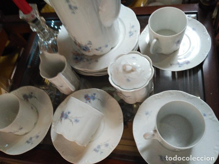 Antigüedades: MAGNIFICO JUEGO DE CAFÉ ART DECO ALEMAN FIRMADO ROSENTHAL CUATRO SERVICIOS 15 piezas - Foto 3 - 111191943