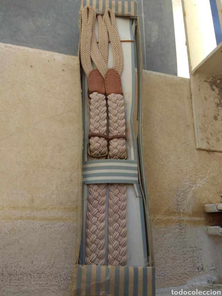 Antigüedades: Antiguo Lote de Tirantes de Niño Primera Comunión Años 60 - Foto 6 - 35097192