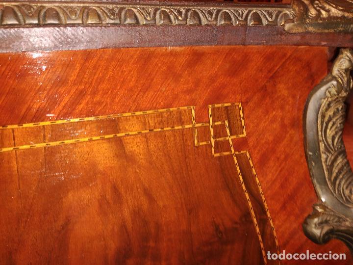 Antigüedades: ANTIGUA IMPRESIONANTE 180 cm. MESA DESPACHO PALACIO SEÑORIAL LUJO LUIS XV PERFECTA APLIQUES 9300,0 € - Foto 32 - 111294527