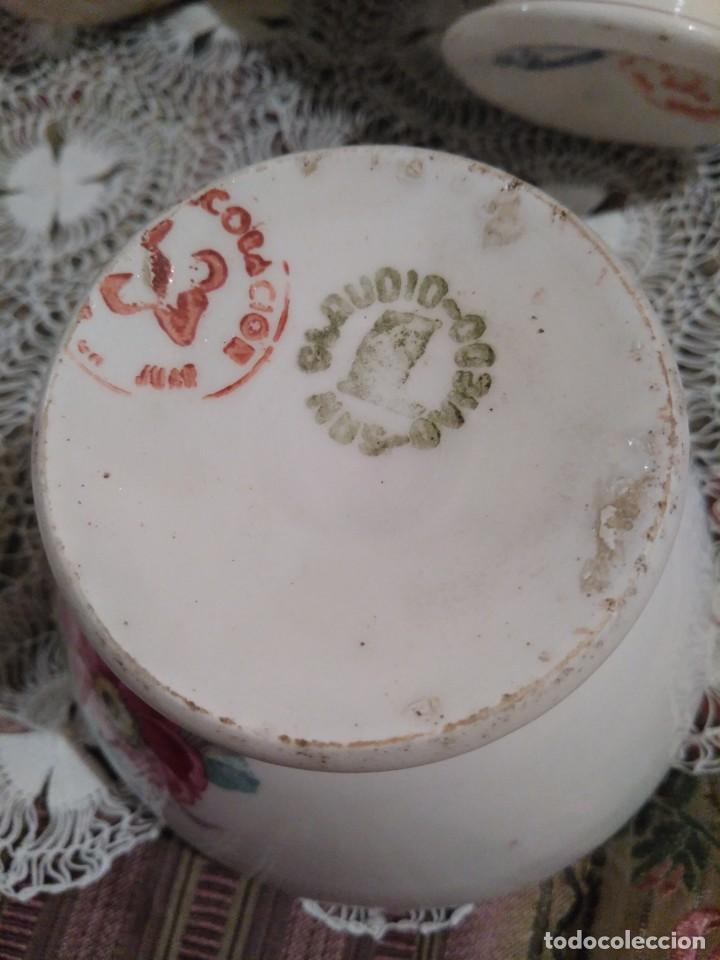 Antigüedades: Antiguo lote de tres cuencos o tazones de San Claudio - Foto 4 - 111303527