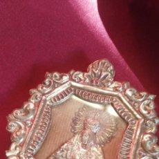 Antigüedades: RELICARIO DE PLATA DE LA MACARENA. Lote 111320710