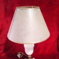 Antigüedades: LAMPARA DE ALABASTRO. Lote 111329387