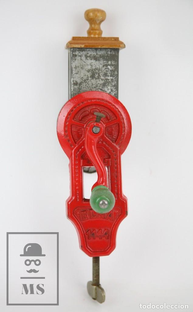 Antigüedades: Antiguo Rallador de Pan - Elma 1444 - Años 50 - Medidas 7 x 14 x 28 cm - Foto 6 - 111350299