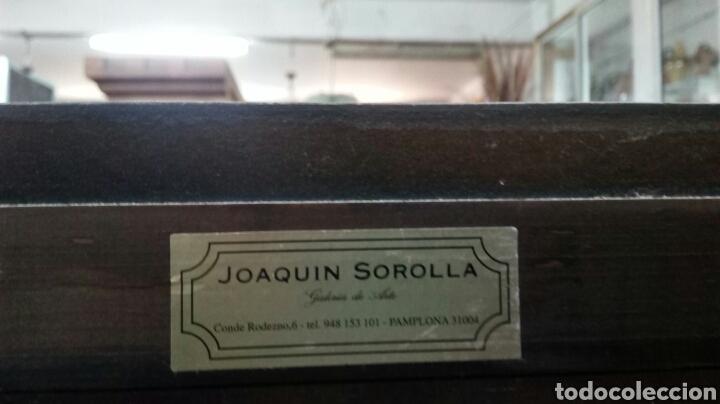 Antigüedades: BARGUEÑO LICORERO DE NOGAL TALLADO ETIQUETADO DE LA SALA DE ARTE JOAQUIM SOROLLA RECOGIDA A CARGO - Foto 17 - 110524668