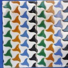 Antigüedades: AZULEJOS DE CUENCA O ARISTAS.. Lote 111370419
