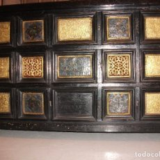 Antigüedades: MUEBLE BARGUEÑO ARQUILLA ESTILO FRANCES SIGLO XIX. Lote 111378023