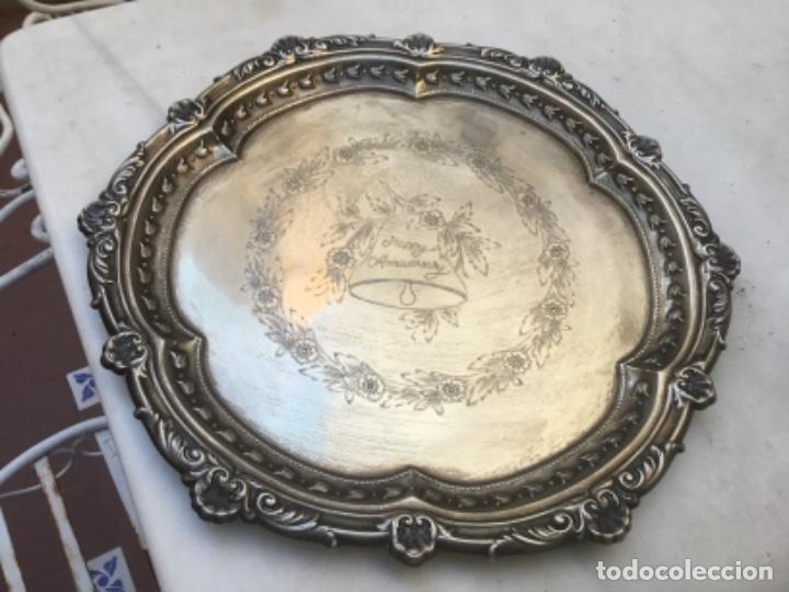 Antigüedades: Antiguo juego de té con bandeja EPNS ideal regalo de aniversario - Foto 2 - 111406279