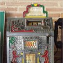 Antigüedades: MÁQUINA CHICLES THE BELL BOY DE 1931 /SLOT COIN MACHINE THE BELL BOY BY MILLS. Lote 111406307
