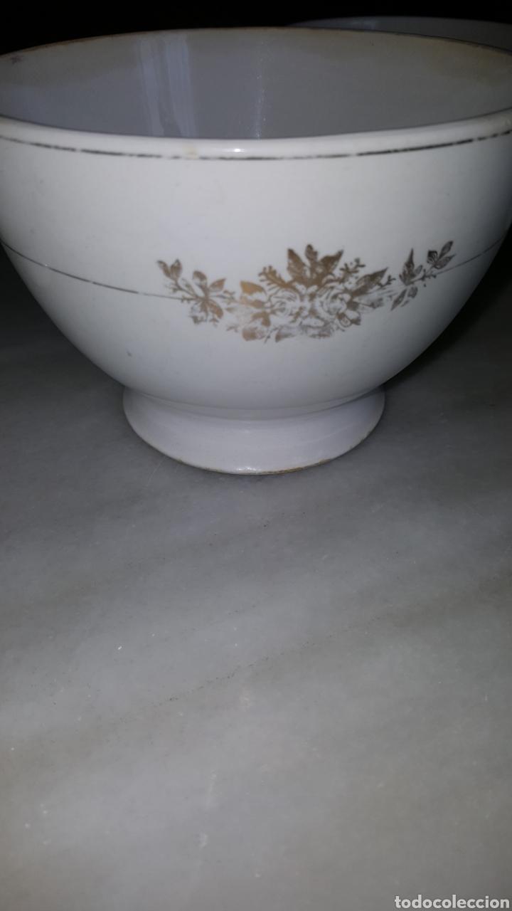 DOS TAZONES MUY ANTIGUOS.SAN CLAUDIO. (Antigüedades - Porcelanas y Cerámicas - San Claudio)