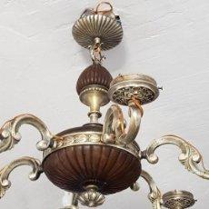 Antigüedades: LAMPARA MUY ANTIGUA. Lote 111434407