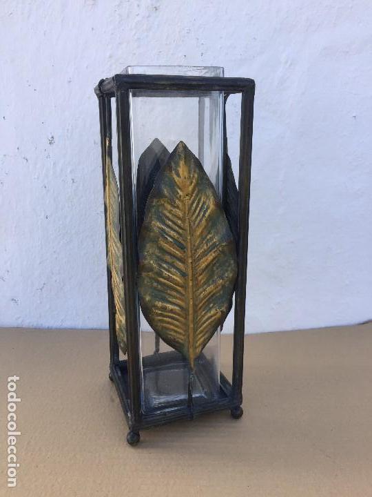 Antigüedades: FLORERO/PORTAVELAS - Foto 2 - 111443523