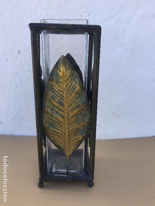 Antigüedades: FLORERO/PORTAVELAS - Foto 4 - 111443523