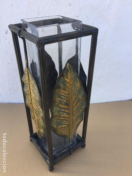 Antigüedades: FLORERO/PORTAVELAS - Foto 5 - 111443523
