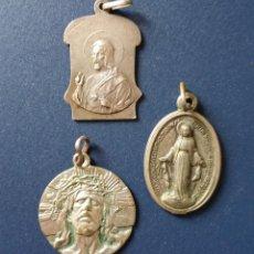 Antiguidades: LOTE DE 3 ANTIGUAS MEDALLAS (AÑO 1830). Lote 111491051