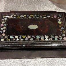 Antigüedades: CAJA DE RAPÉ DEL SIGLO XIX. Lote 111502495
