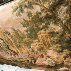 Antigüedades: TAPIZ GALANTE ESTILO FRANCES. Lote 111528903