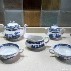Antigüedades: JUEGO ROYAL TUDOR WARE STAFFORDSHIRE CAFE TE. Lote 111530180